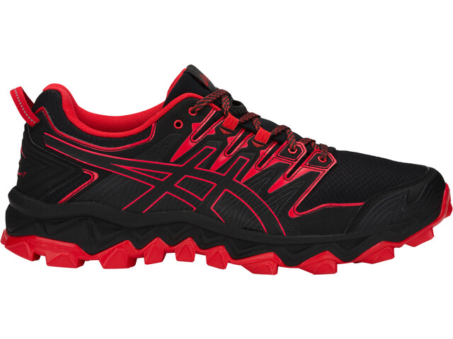 asics Gel-FujiTrabuco 7 Shoes Herre black/classic red